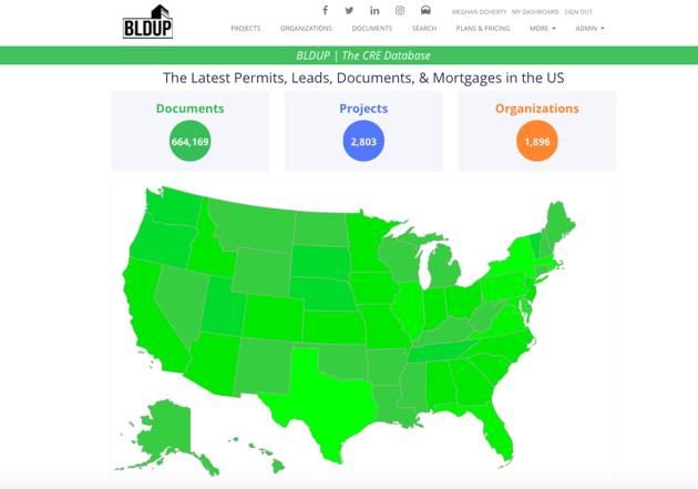 BLDUP Documents Tab Map