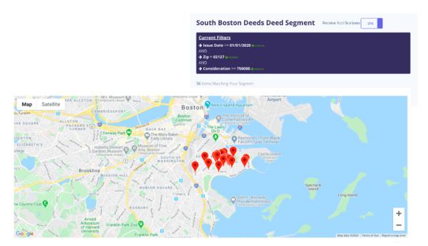 south boston deeds